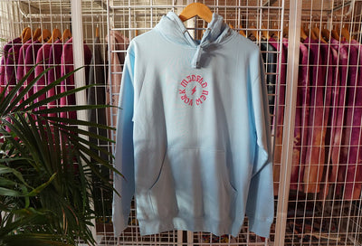 MIDFLD midfld light blue hoodie hoodies and crewnecks TheDrop
