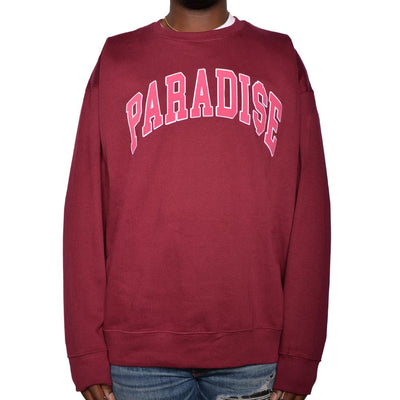 Nerdy Fresh paradise crewneck hoodies and crewnecks red TheDrop
