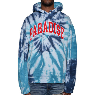 Nerdy Fresh paradise tie dye hoodie 1 hoodies and crewnecks TheDrop