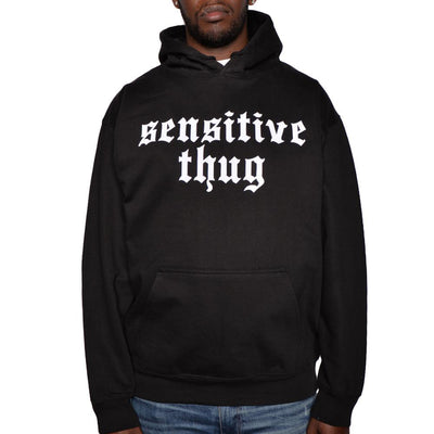 Nerdy Fresh sensitive thug hoodie hoodies and crewnecks black TheDrop