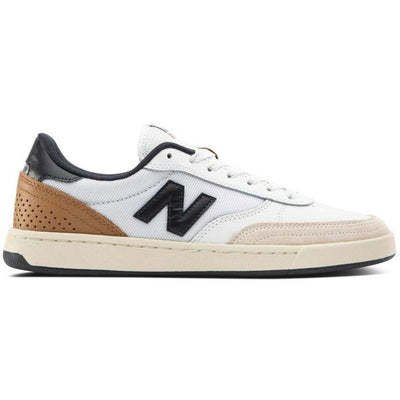 NEW BALANCE new balance 440 white tan navy skate shoes TheDrop