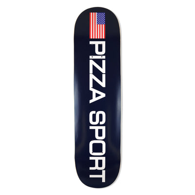 pizzaskateboards pizza sport deck pizza skateboards multi TheDrop