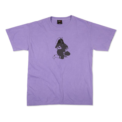 pizzaskateboards rodeo tee lavender pizza skateboards TheDrop
