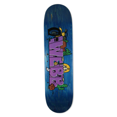 pizzaskateboards webb kilroy deck 8 25 pizza skateboards multi TheDrop