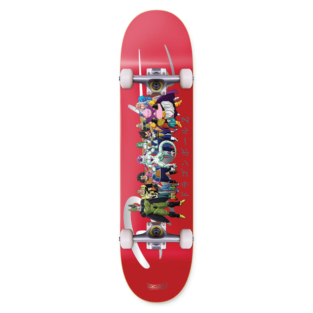 PRIMITIVE SKATE dbz nuevo villains complete wheels red TheDrop