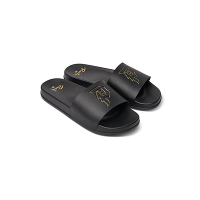 PRIMITIVE SKATE dirty p slipper su19 slides black TheDrop