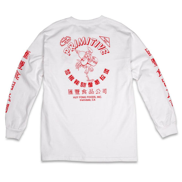 PRIMITIVE SKATE primitive x huy fong foods l s tees TheDrop