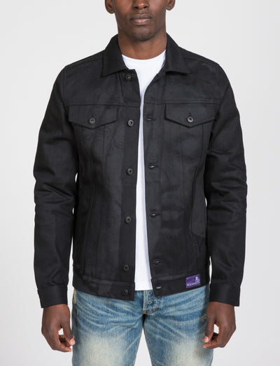 Prps Men Collaboration prps mannion wash denim jacket e90jt401 blk prps black TheDrop