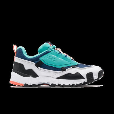 PUMA puma trailfox overland galaxy blue turquoise west nyc white TheDrop