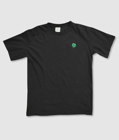 Riot Society Clothing comfort colors get lucky clover embroidered mens t shirt riot society TheDrop