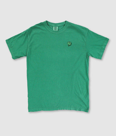 Riot Society Clothing comfort colors lucky u clover embroidered mens t shirt riot society TheDrop