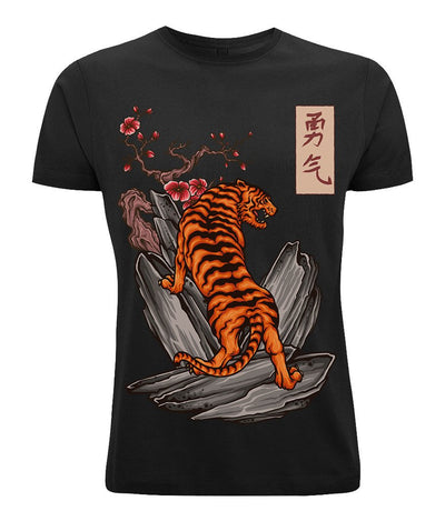 Rockwell s tattoos rock tiger tees TheDrop