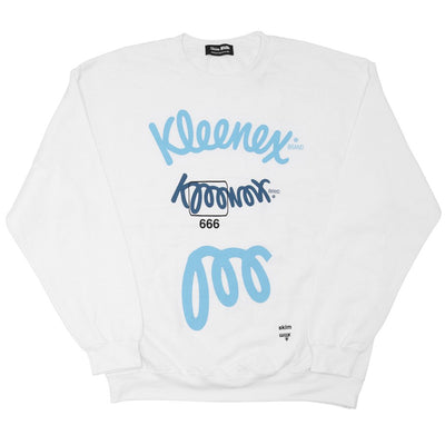 Skim Milk k666nex sweater skim milk whole white TheDrop