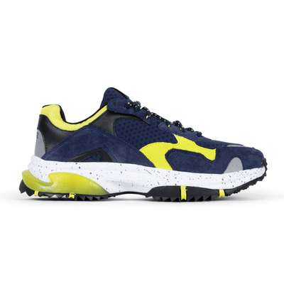 SNKR Project prospect park blue yellow sneakers TheDrop