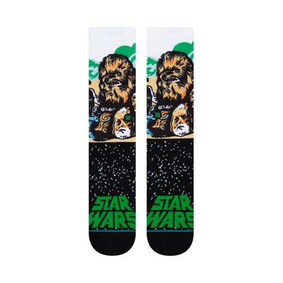 Stance stance classic crew sock star wars chewbacca socks TheDrop