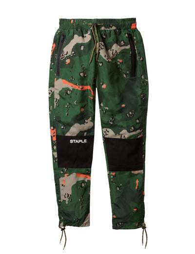 Staple Pigeon ripstop camo nylon pant 1909b5546 olv staple green TheDrop