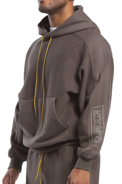 STUDIO CANDOR bhone hoodie charcoal hoodies and crewnecks TheDrop