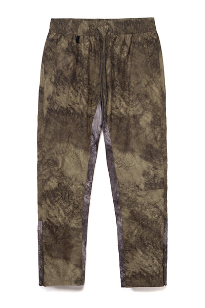STUDIO CANDOR grath pant green shadow camo pants and joggers TheDrop