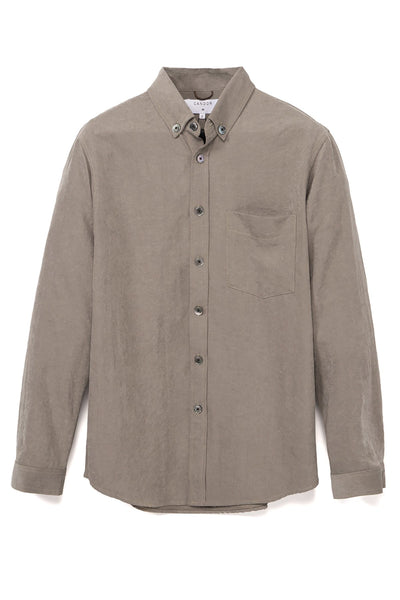 STUDIO CANDOR mesquit buttondown tan olive candor official TheDrop