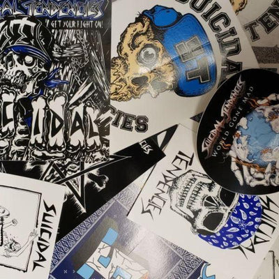 Suicidal Tendencies 10 stickers combo stickers TheDrop