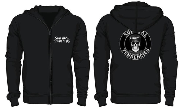 Suicidal Tendencies st california zip up hoodie hoodies and crewnecks black TheDrop