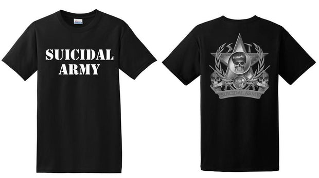 Suicidal Tendencies suicidal army apparel black TheDrop