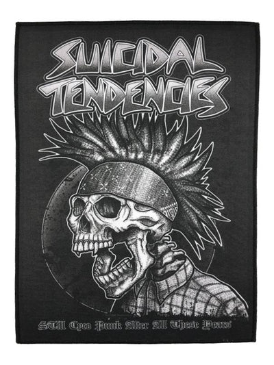 Suicidal Tendencies suicidal tendencies still cyco punk back patch pins and patches TheDrop