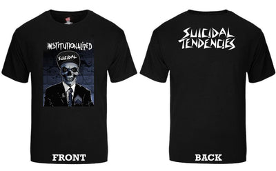 Suicidal Tendencies ts 89 institutionalized suit sticker tees black TheDrop