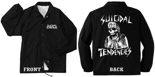 Suicidal Tendencies windbreaker flipskull jackets and outerwear black TheDrop