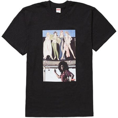 Supreme supreme american picture tee black streetwear official black TheDrop