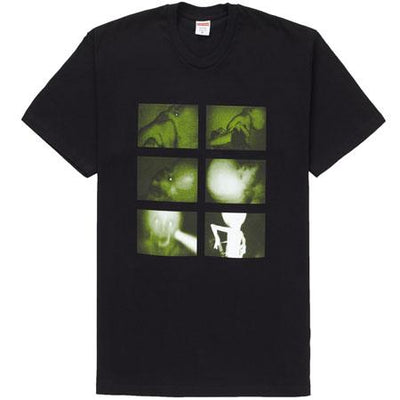 Supreme supreme chris cunningham rubber johnny tee black streetwear official black TheDrop