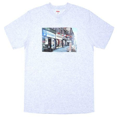 Supreme supreme hardware tee ash grey streetwear official TheDrop