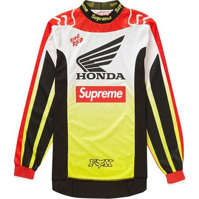 Supreme supreme honda fox racing moto jersey top red streetwear official red TheDrop