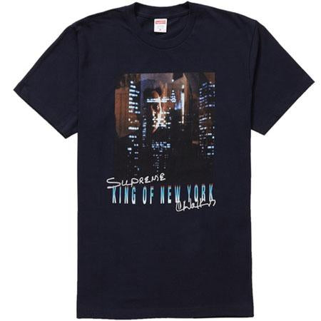 Supreme supreme king of new york tee navy streetwear official navy TheDrop