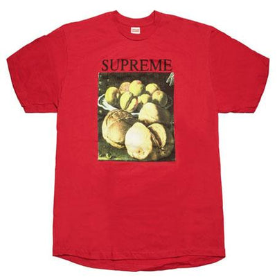 Supreme supreme still life tee red streetwear official red TheDrop