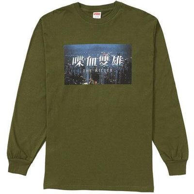 Supreme supreme the killer l s tee olive streetwear official green TheDrop