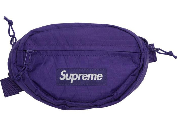 Supreme supreme waist bag fw18 purple streetwear official TheDrop