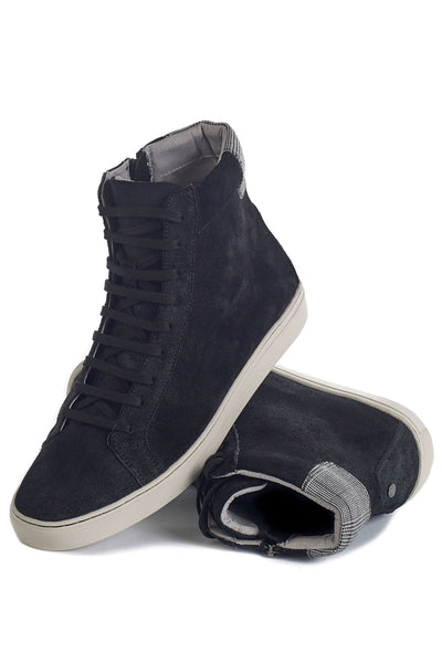 TCG Footwear logan black plaid sneakers TheDrop