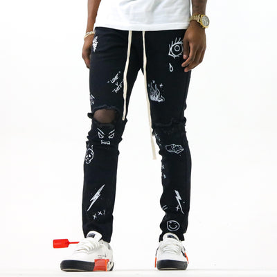 THRT DENIM wynwood denim black streetwear official black TheDrop