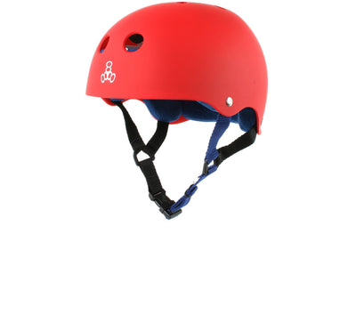 TRIPLE 8 brain saver helmet united red protection TheDrop