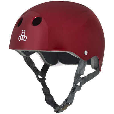 TRIPLE 8 brainsaver helmet red protection red TheDrop