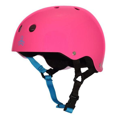 TRIPLE 8 triple 8 sweatsaver helmet fuschia protection TheDrop