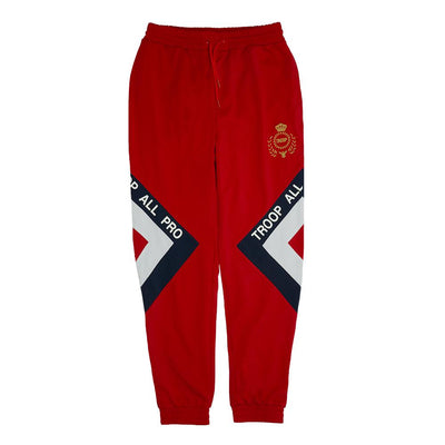 TROOP troop all pro pant red pants and joggers TheDrop