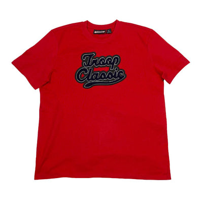 TROOP troop arch logo t red tees TheDrop
