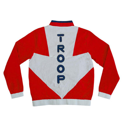 TROOP troop arrow track pullover jacket red white 1 jackets and outerwear TheDrop