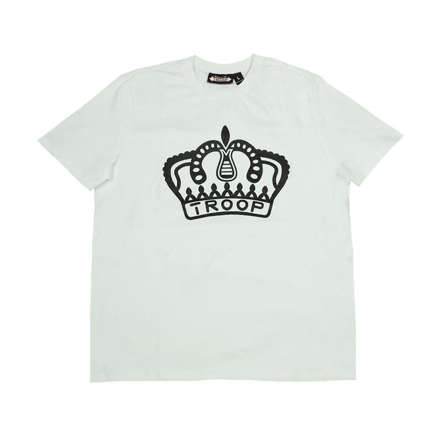 TROOP troop crown flocked t 1 tees TheDrop
