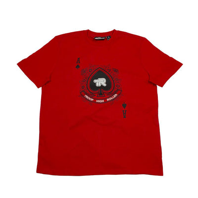 TROOP troop high roller t red tees TheDrop