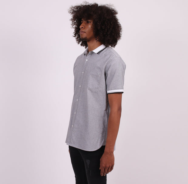 Unitryb the intermix heather gray button down shirts TheDrop