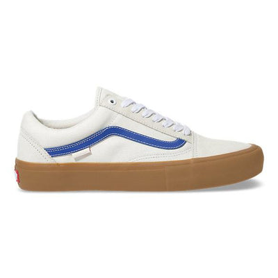 Vans mens old skool pro marshmallow blue gum belmont army grey TheDrop