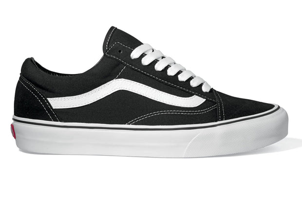 VANS old skool blkwht skate shoes TheDrop